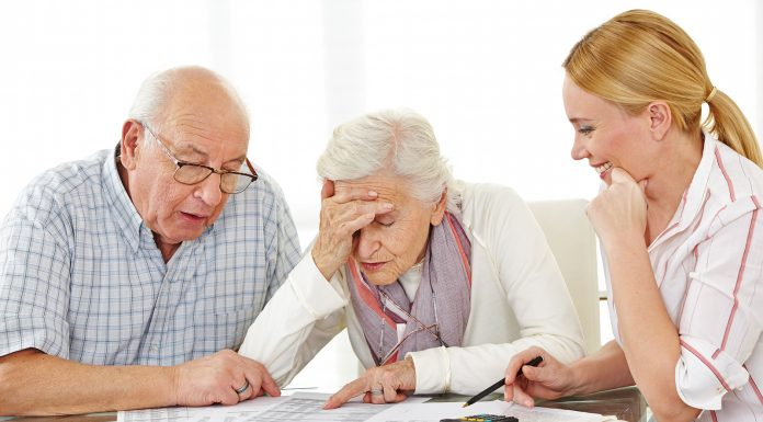 Seniors Lifestyle Magazine Senior Finances Discussion with Daughter