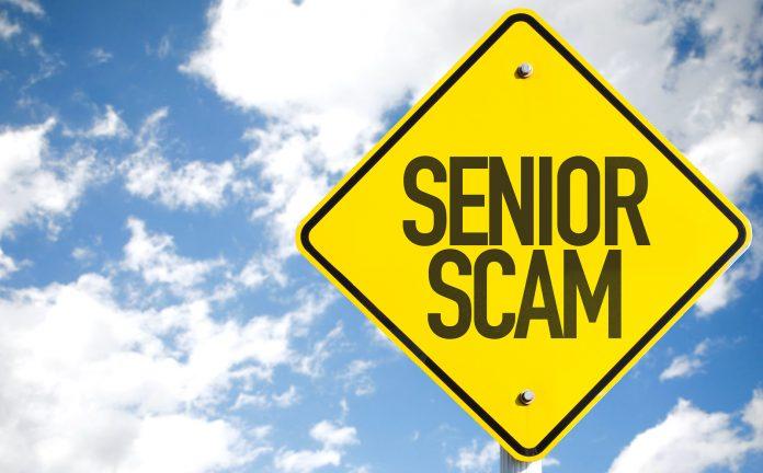 Seniors Lifestyle Magazine Senior Scam Sign