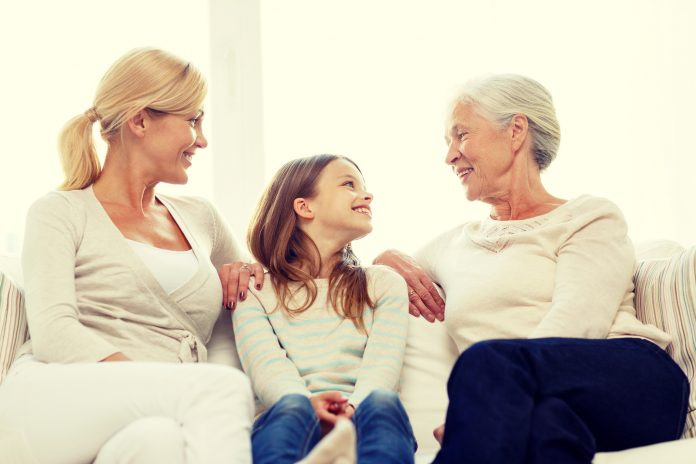 Seniors Lifestyle Magazine Mother Daughter and granddaughter