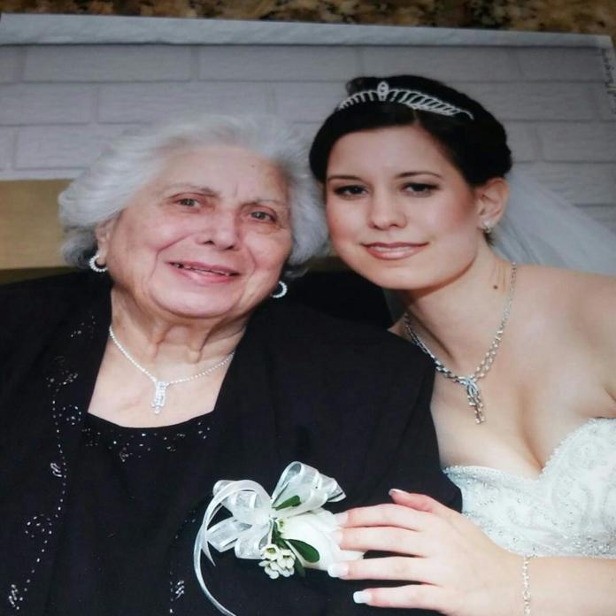 Lisa and Nonna