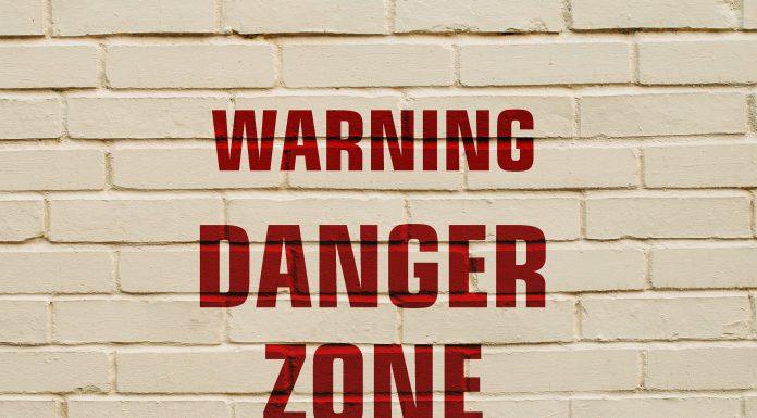 bigstock Inscription Warning Danger Zon 202621855 scaled