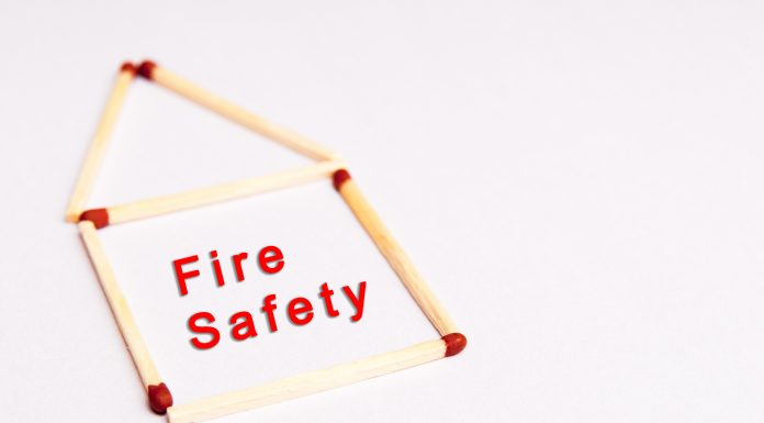 bigstock Fire Safety Background With Te 150033155 scaled