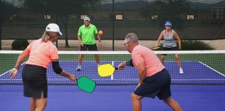 Pickleball Action scaled