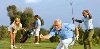 bigstock Happy senior golfer following 102933128 scaled
