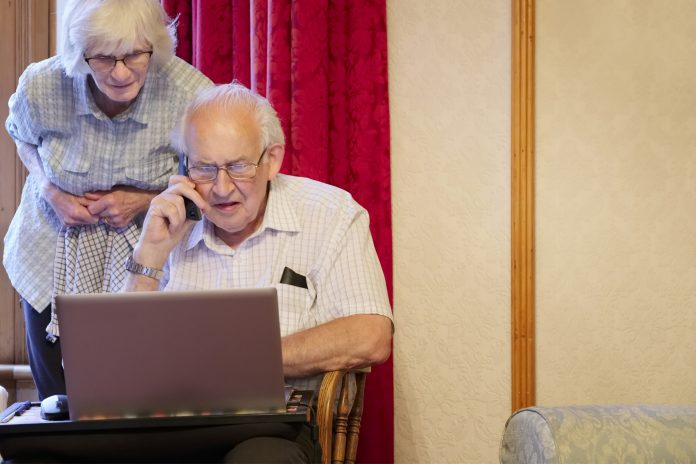 Elderly people and scams  scaled