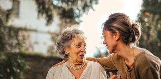 joyful adult daughter greeting happy surprised senior mother 3768131 scaled