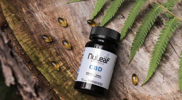 NuLeaf Product Photo Softgel bottle wood landscape scaled