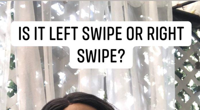 Is it left swipe or right swipe