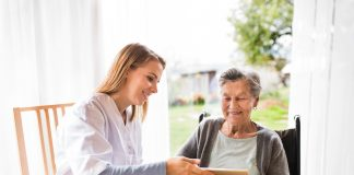 Telehealth with Caregiver scaled